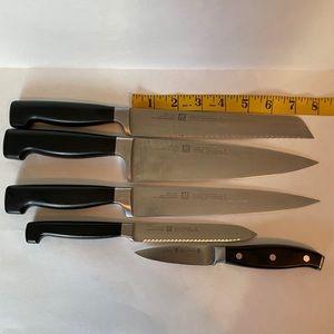 Henckels 5 piece knife set